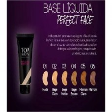 Base Líquida Perfect Face Top Beauty