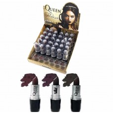 Batom Matte Bala Blakish Queen Fashion