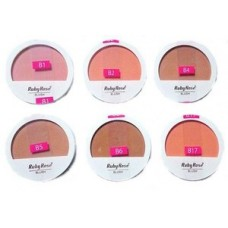 Blush Compacto 6104 Ruby Rose