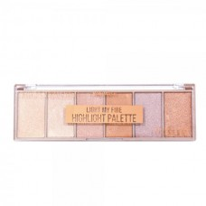 Paleta Iluminador Light My Fire 7512 Ruby Rose