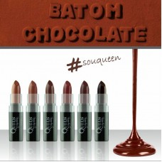 Batom Matte Bala Chocolate Queen Fashion