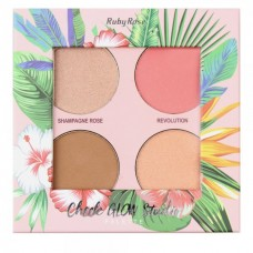 Paleta Cheek Glow Studio HB7506